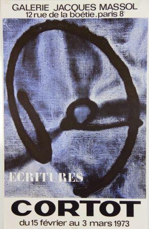 Lithograph Cortot - Galerie Jacques Massol  1973