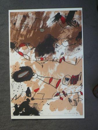 Lithograph Guinovart - Galerie Joan Prats