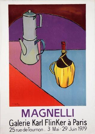 Lithograph Magnelli - Galerie Karl Flinker