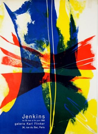 Lithograph Jenkins - Galerie Karl Flinker