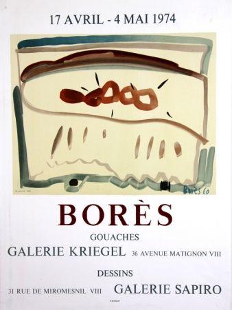 Lithograph Bores - Galerie Kriegel