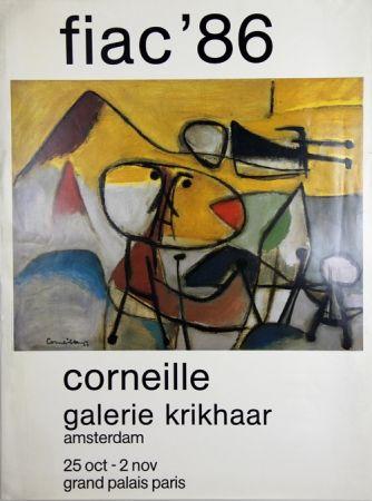 Offset Corneille - Galerie Krikhaar  Fiac 89