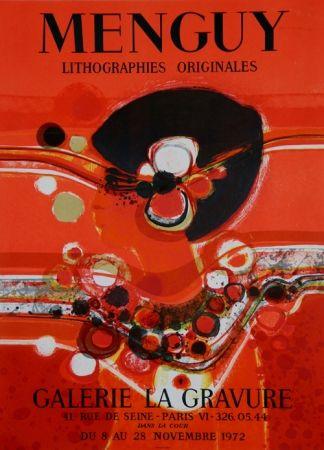 Lithograph Menguy - Galerie La Gravure