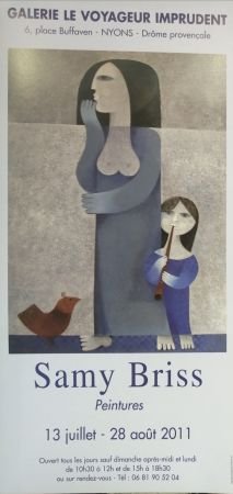 Poster Briss - Galerie Le Voyageur imprudent