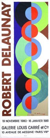 Lithograph Delaunay - Galerie Louis  Carré