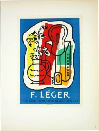 Lithograph Leger - Galerie Louis Carré