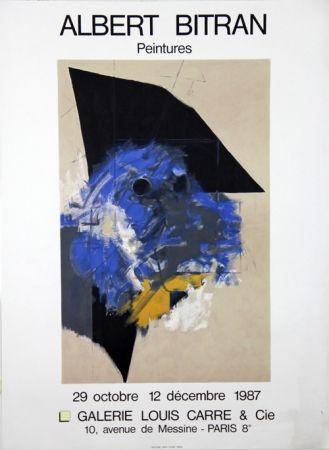 Lithograph Bitran - Galerie Louis Carre