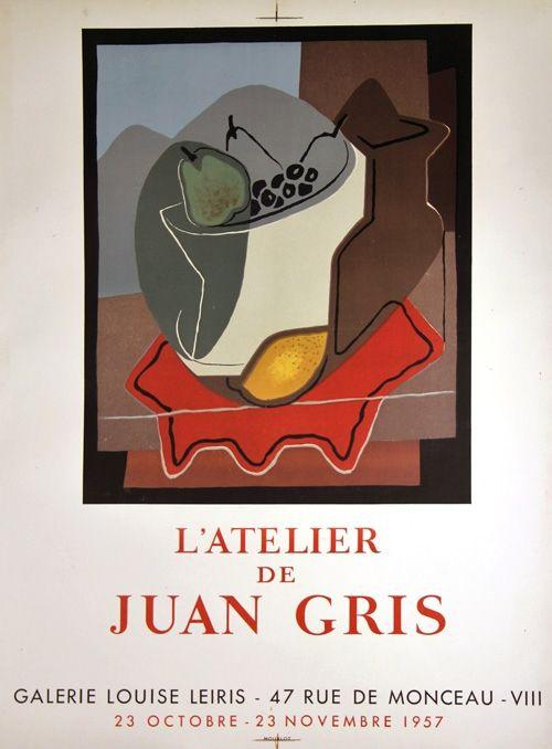 Lithograph Gris  - Galerie Louise Leiris