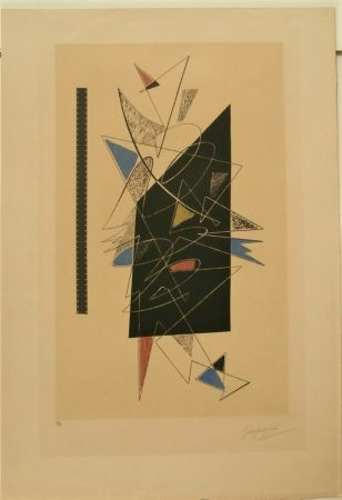 Lithograph Severini - GALERIE LUCIE WEILL