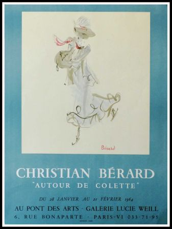 Poster Berard - GALERIE LUCIE WEILL - ATOUR DE COLETTE