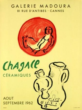 Lithograph Chagall - GALERIE MADOURA