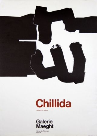 Poster Chillida - Galerie Maeght
