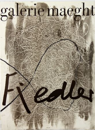 Lithograph Fiedler - Galerie Maeght