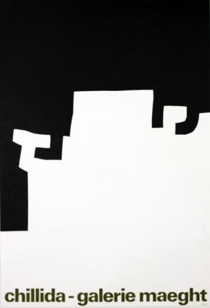 Lithograph Chillida - Galerie Maeght