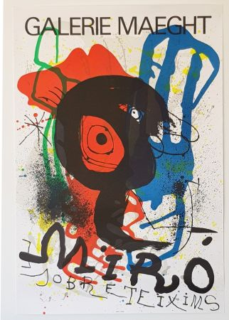 Lithograph Miró - Galerie Maeght
