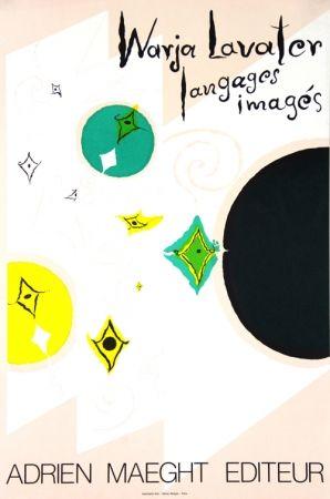 Lithograph Lavater - Galerie Maeght   Langages  Imagés