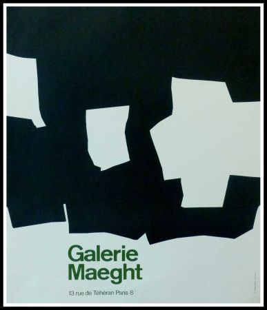 Poster Chillida - GALERIE MAEGHT PARIS