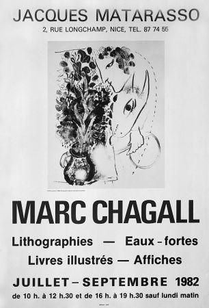 Poster Chagall - '' Galerie Matarasso ''