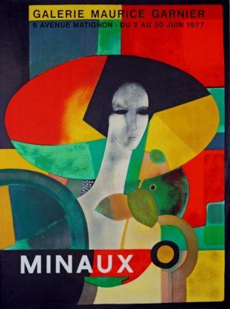Lithograph Minaux - Galerie Maurice Garnier