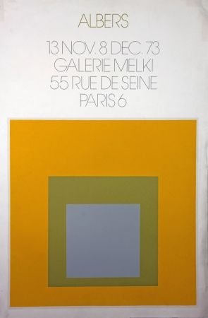 Lithograph Albers - Galerie Melki