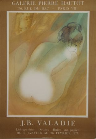 Lithograph Valadie - Galerie Pierre Hautot