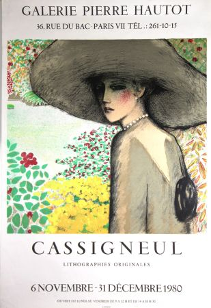Lithograph Cassigneul  - Galerie Pierre Hautot