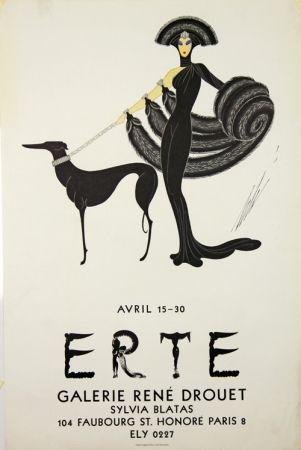 Lithograph Erte - Galerie Rene Drouet