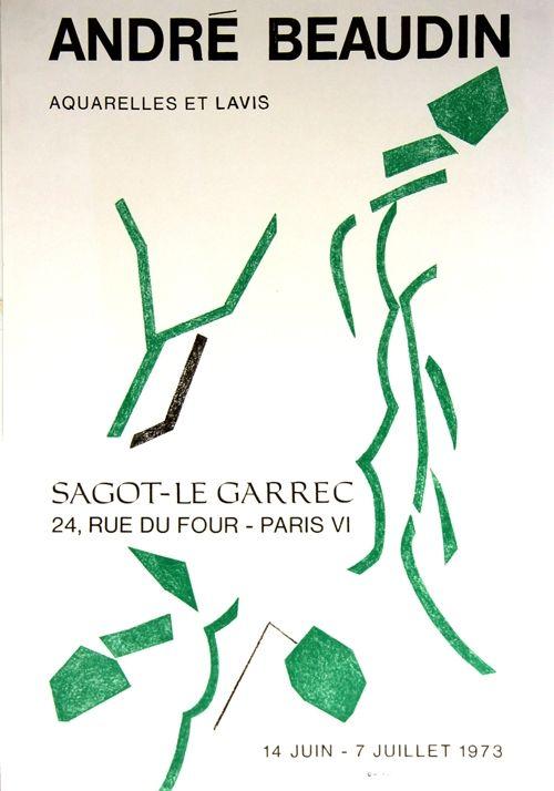 Lithograph Beaudin - Galerie Sagot le Garrec