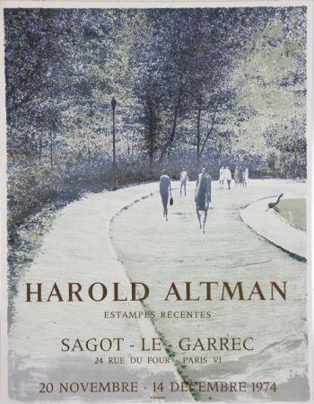Lithograph Altman - Galerie Sagot Le Garrec