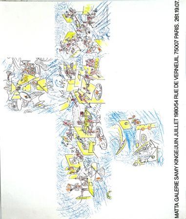 Lithograph Matta - Galerie Samy Kinge