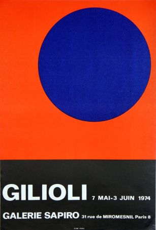 Lithograph Gilioli - Galerie Sapiro