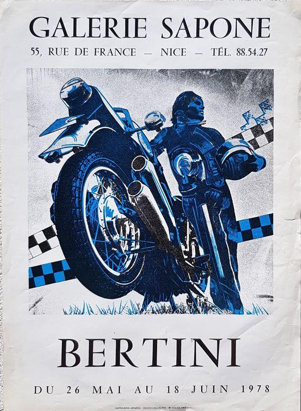 Lithograph Bertini - Galerie  Sapone