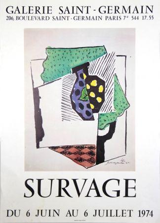 Poster Survage - Galerie St Germain
