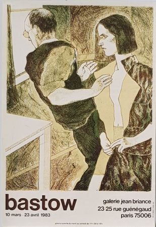 Lithograph Bastow - Gallery  Jean  Briance
