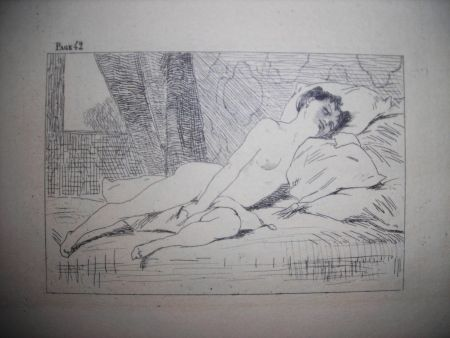 Engraving Rops - Gamiani ou deux nuits d'exces