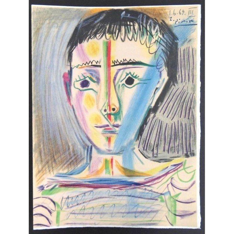 Lithograph Picasso (After) - Garçonnet III