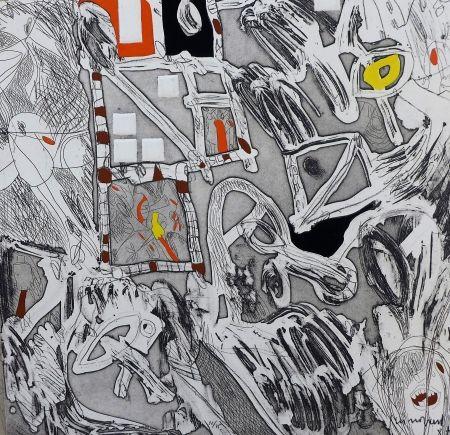 Etching Guinovart - Garcia Lorca 3
