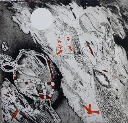 Etching Guinovart - Garcia Lorca 4