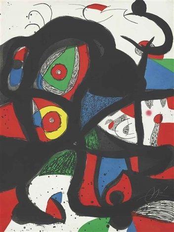 Etching And Aquatint Miró - Gargantua