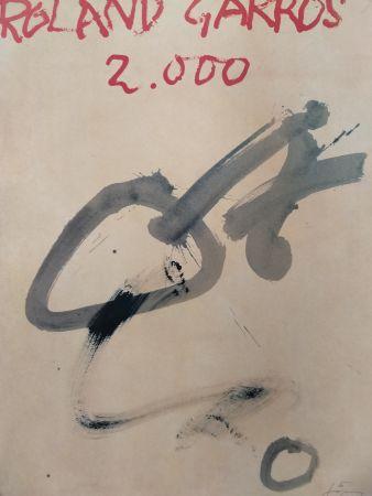 Lithograph Tàpies - Garros