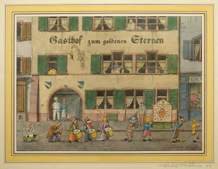Offset Stöcklin - Gasthof zum goldenen Sternen