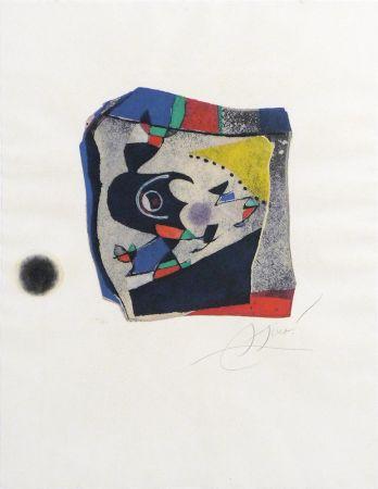 Etching Miró - Gaudí 34