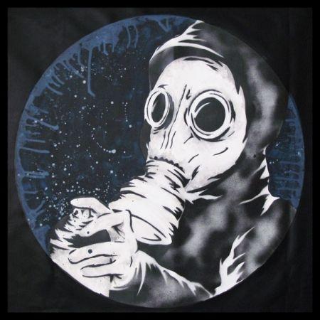 Poster Zabou - Gaz Mask