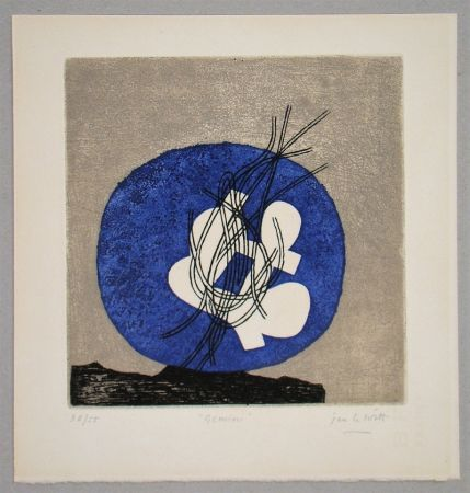 Etching And Aquatint Le Witt - Gemini