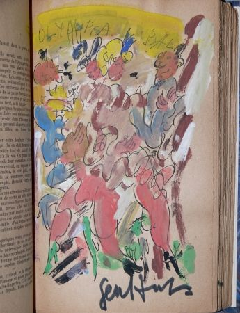 Illustrated Book Paul  - GEN PAUL / LOUIS-FERDINAND CELINE -