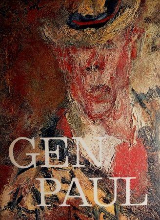 Illustrated Book Paul  - GEN PAUL par/by Pierre Davaine - Preface Dr J.Miller - Signature & envoi de Gen Paul / Hand-Signed and personal note from Gen Paul