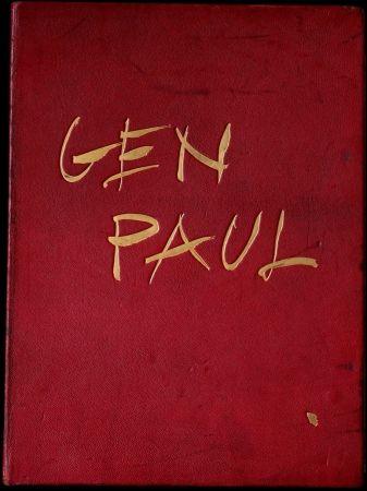 Illustrated Book Paul  - GEN PAUL par/by Pierre Davaine,Preface Dr J.Miller - 1974