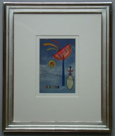 Lithograph Kandinsky - Geneigter Halbkreis