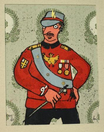 Engraving Baj - Generale