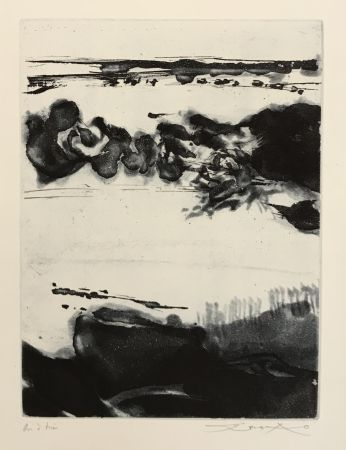 Etching And Aquatint Zao - Genese (322)